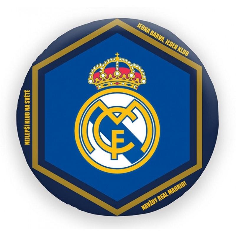 Halantex polštář FC Real Madrid průměr 35cm
