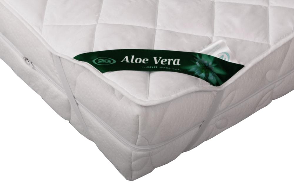 Levně 2G Lipov Chránič matrace (podložka) Aloe Vera - 200x200 cm   1ks