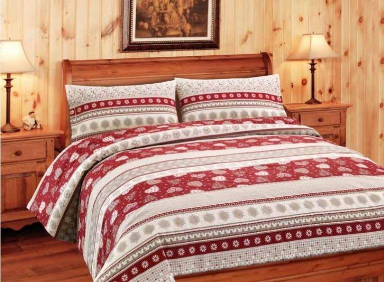 Gipetex Natural Dream Italské povlečení bavlna LUX Corvara - 220x200 / 2x70x90 cm