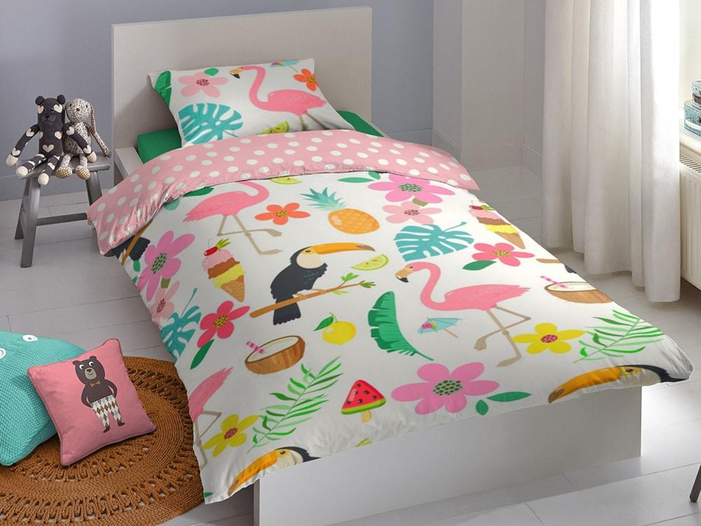 Good Morning Povlečení Good Morning 100% bavlna Aloha 140x200/70x90 cm