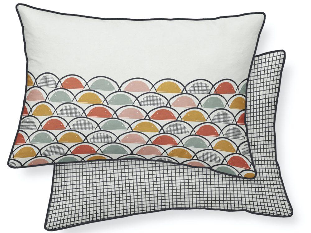 TODAY TERRA ROSA dekorační polštářek 30x50 cm