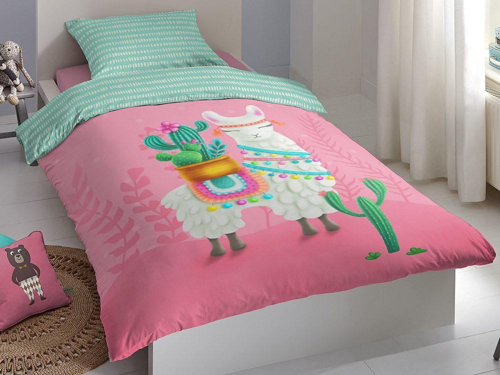 Good Morning Povlečení Good Morning 100% bavlna Lalama 140x200/70x90 cm