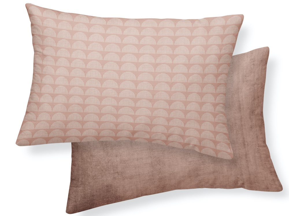 TODAY TERRA ROSA dekorační polštářek 30x50 cm růžový