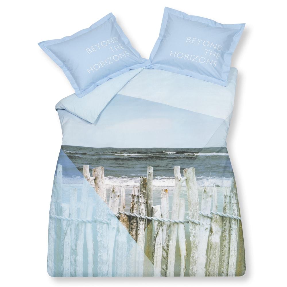 Vandyck Luxusní bavlněné povlečení VANDYCK Ocean Waves - 140x200-220 / 60x70 cm