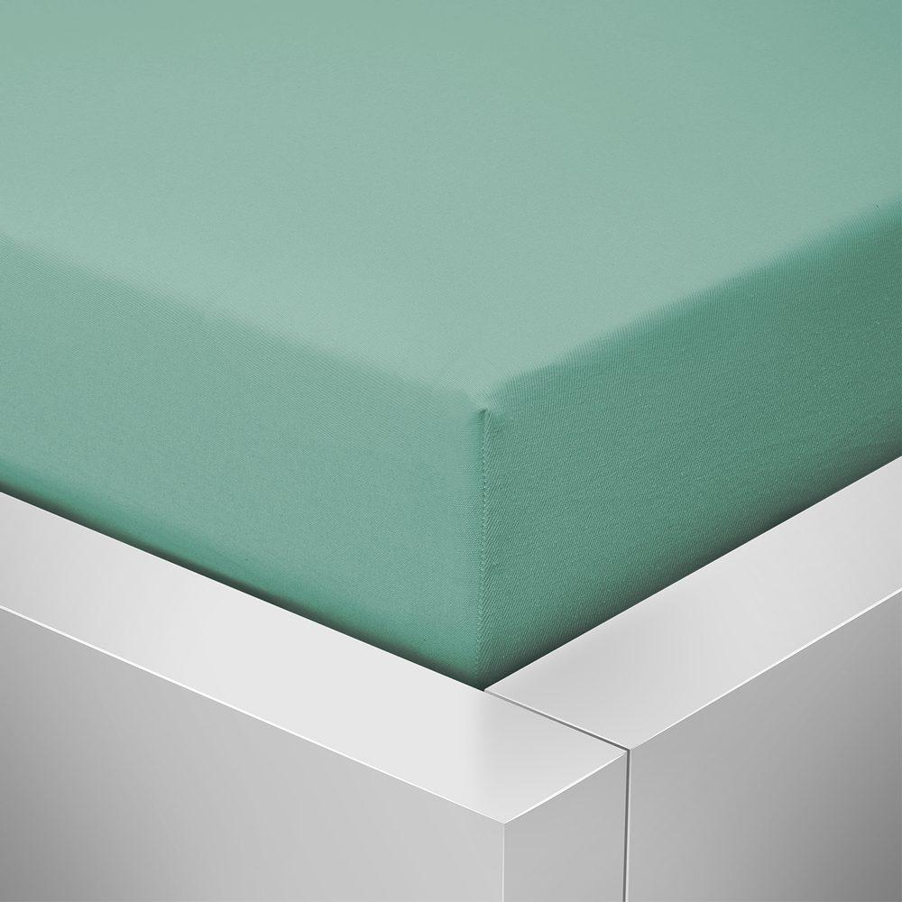 Levně Homeville jersey prostěradlo ELASTIC celadon - 90x200 cm