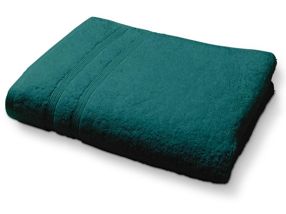 Levně TODAY Ručník 100% bavlna Emeraude - barva jehličí - 70x130 cm