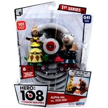 Hero 108 Alpha Girl vs. Dog King figurky