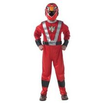 Power Rangers kostým Red Ranger RPM 5-6 let