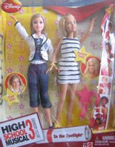 High School Musical 3- Barbie panenky Tiara a Sharpay