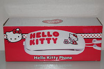 Hello Kitty telefon (pevná linka)