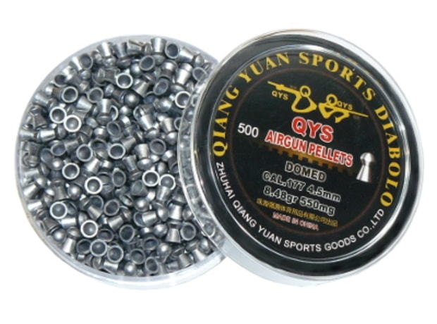 Diabolky QYS Domed 4,50mm 0,55g 500ks