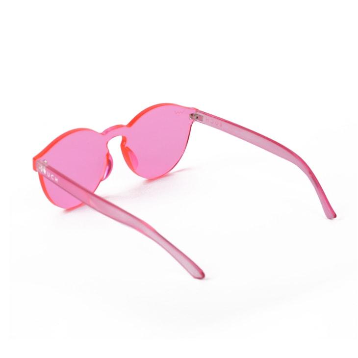Vuch Różowe damskie okulary przeciwsłoneczne Gum