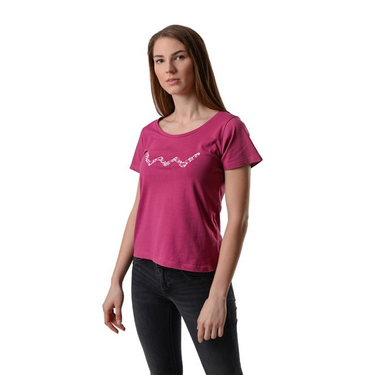 T-shirt Purple Vuch