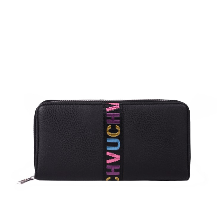 6d9c755c43af1 Vuch - Czarny portfel damski ze skóry ekologicznej PEACEFUL PADMA