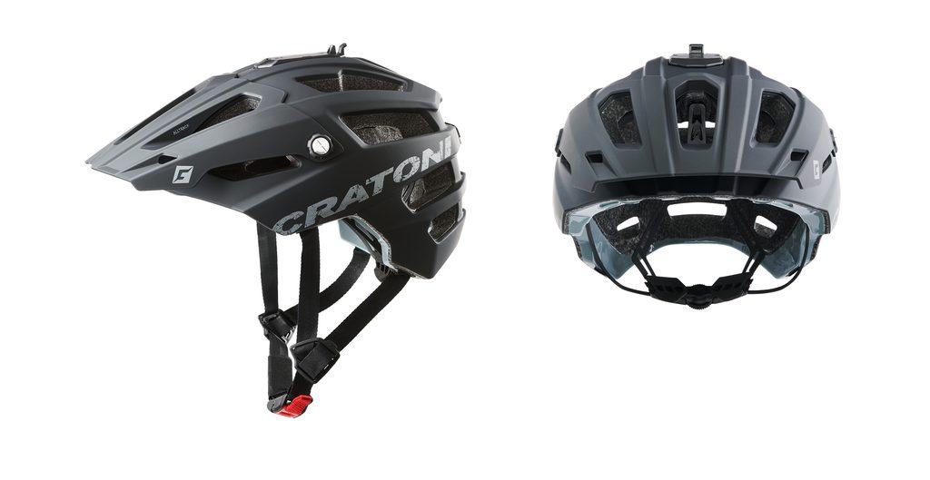 Přilba Cratoni ALLTRACK - black rubber | CRATONI | MTB, Road | Přilby,  Přilby a brýle | MIKEBIKE