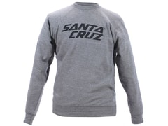 Mikina Santa Cruz STACKED LOGO CREW, grey