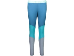 Legíny Mons Royale merino CHRISTY LEGGING PANEL blue steel / aqua / lead