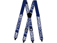Kšandy Mons Royale AFTERBANG SUSPENDERS electric blue / white