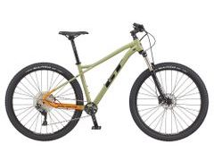 "Horské kolo GT AVALANCHE 29"" ELITE 2021, green/orange"