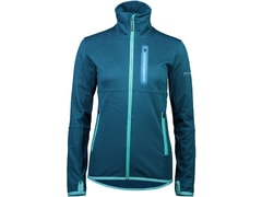Mikina Mons Royale merino APPROACH TECH MID JACKET W oily blue