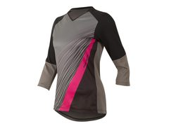 Dres PEARL iZUMi W LAUNCH 3/4 SLEEVE, černá/SMOKED PEARL COMPOSITE, M