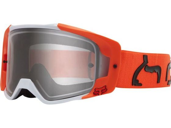 Race brýle Fox Vue Dusc Goggle Fluo Orange