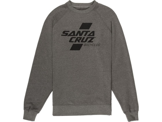 Mikina Santa Cruz PARALLEL CREW, grey