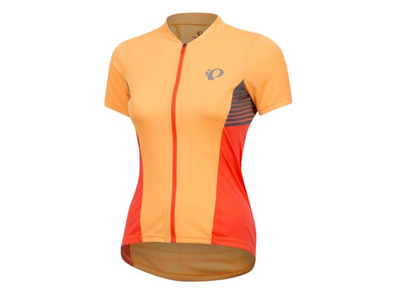 Dres PEARL iZUMi W SELECT PURSUIT SS dres, ORANGE POP/FIERY CORAL DIFUSE, M