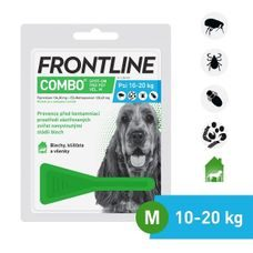 Frontline Combo Spot-on Dog M (1,34ml) 10-20kg exp 11/2020 zľava 15%
