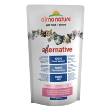 Almo Nature Alternative Dry CAT - Losos a ryža 750g - ZĽAVA 50% VÝPREDAJ 04/21