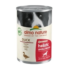 Almo Nature - 100% single protein - kačica 400g
