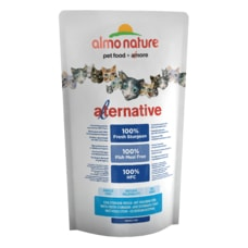 Almo Nature Alternative Dry CAT - Jeseter a ryža 750g - ZĽAVA 50% VÝPREDAJ 02/21