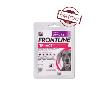 FRONTLINE TRI-ACT SPOT-ON DOG L (1X4ML) 20-40KG (ÚTULOK)
