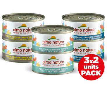 ALMO NATURE HFC CAT MULTIPACK S RYBOU 6X70G