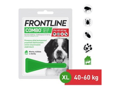 FRONTLINE COMBO SPOT-ON DOG XL (4,02ML) NAD 40KG EXP 09/2020 ZĽAVA 30%