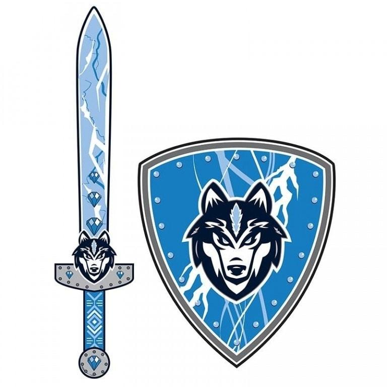 61502e549 Meč a štít Vlk - Detské zbrane - Hračky pre chlapcov ... - ABC Toys