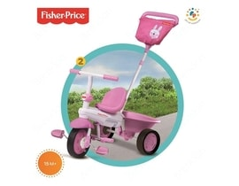 SMART TRIKE tříkolka Fisher Price 146 Elite pink