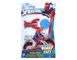 Spiderman 15 cm Spiderman na čtyřkolce
