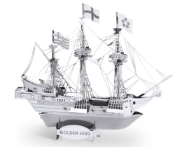 METAL EARTH 3D puzzle Loď Golden Hind