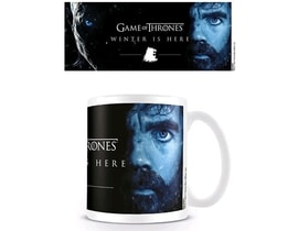 HRNEK KERAMICKÝ GAME OF THRONES315 ml/WINTER IS HERE/TYRION/BÍLÝ