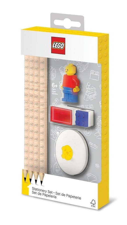 LEGO Stationery Set s minifigurkou