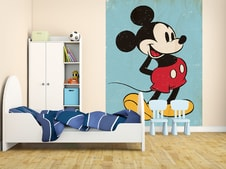 1Wall fototapeta Mickey Mouse retro 158x232 cm