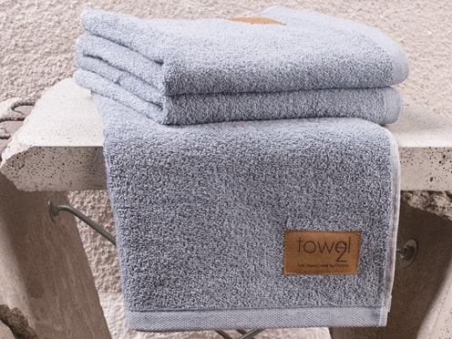 Clarysse Towel2 ECO ručník denim