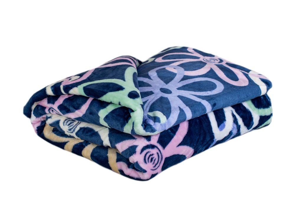 Homeville deka mikroplyš 150x200 cm Flowers