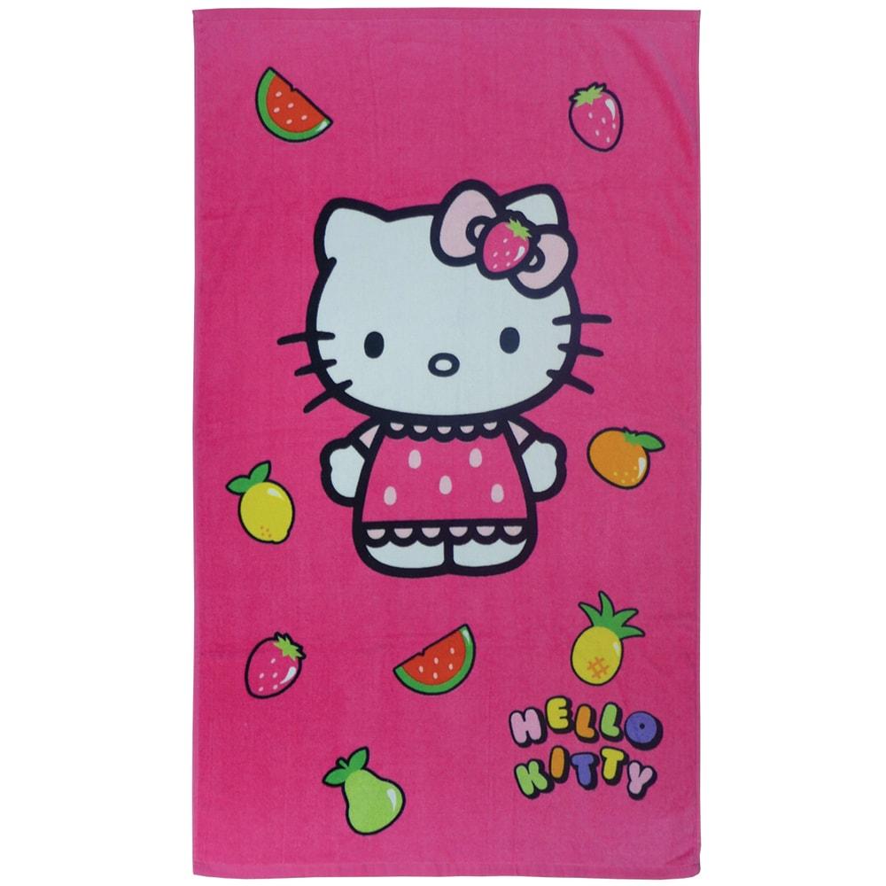 CTI Osuška Hello Kitty Fruity 70x120 cm