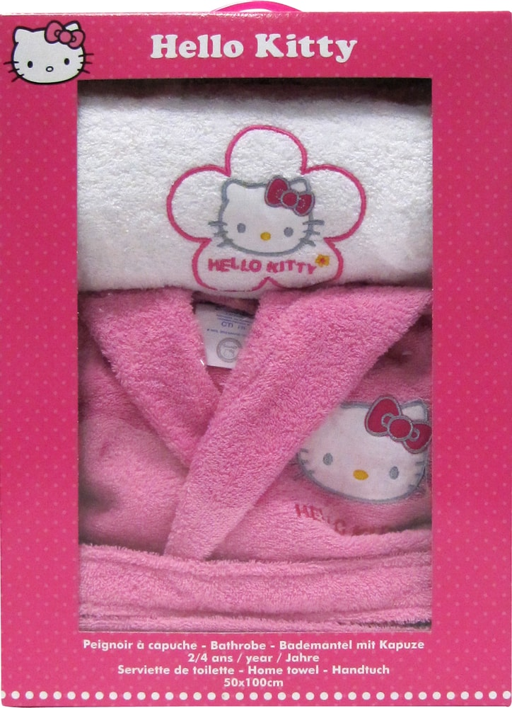 CTI Župan Hello Kitty Lucie darčeková sada s uterákom - 10 až 12 let (vel. 134-152)