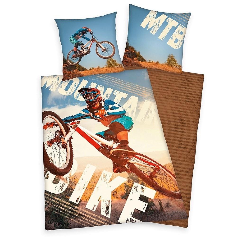 Herding obliečka Mountainbike MTB 140x200/70x90 cm
