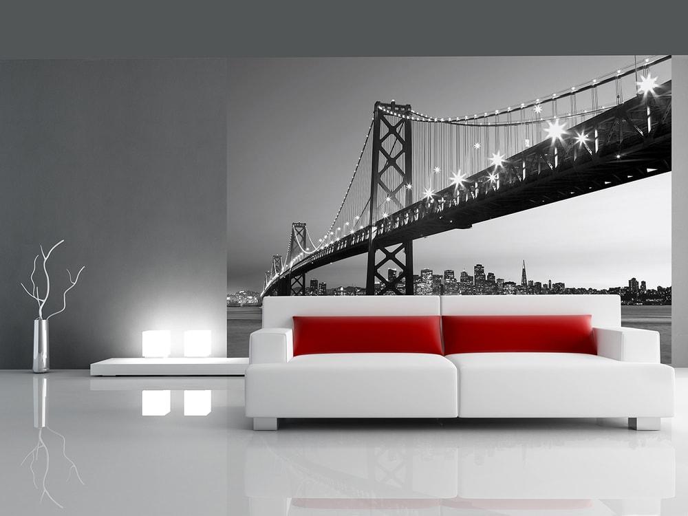 Wizard+Genius W+G vliesová fototapeta San Fransico Skyline 366x254 cm