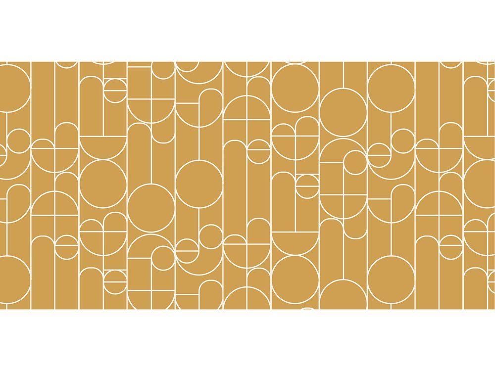 TODAY TERRA ROSA koberec 60x120 cm žluté retro