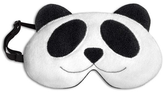 Leschi LESCHÍ Maska na spaní panda Lien 19x12cm